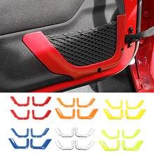 MOPAI ABS 2/4 도어 자동차 인테리어 도어 스토리지 그물 문자열 가방 장식 커버 지프 랭글러 JK 2011 + 자동차 액세서리 스타일링