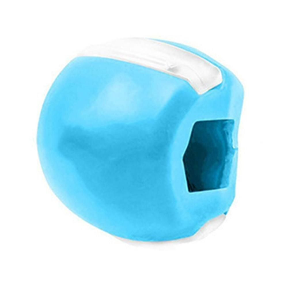 Пищевой силиконовый тренажер для линии шеи, съедобные упражнения для мышц, укрепляющий текстуру лица, тренировочный фитнес-мяч для лифтинг...