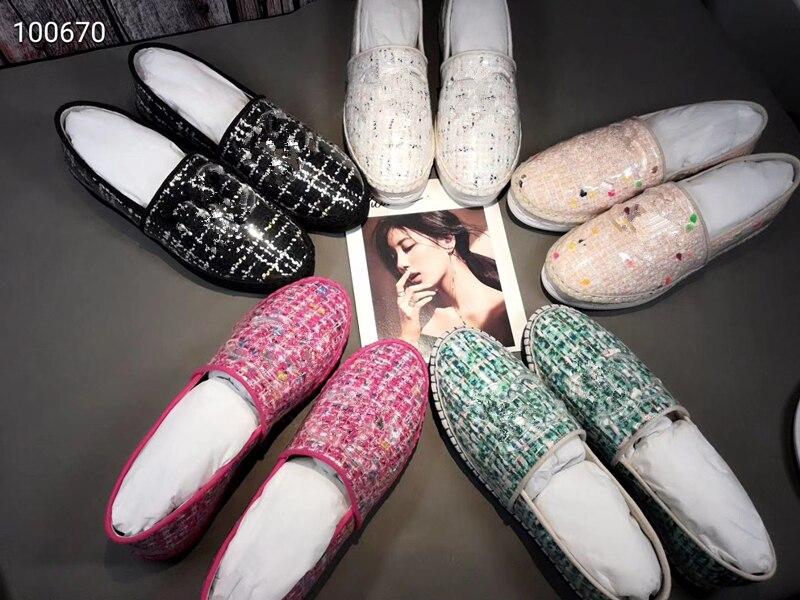 Top quality Maoni designs twill fabric Espadrilles Shoes Women Alpargatas mujer Espadrillas zapatos alpargata Flats size 35-40