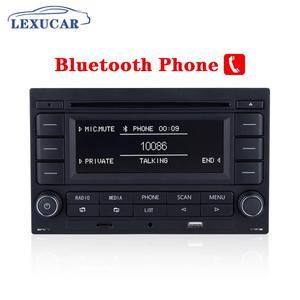 Image 3 - LEXUCAR Bluetooth RCN210 Car Radio  CD Player USB MP3 AUX RCN 210  9N 31G 035 185 For VW Golf Jetta MK4 Passat B5 Polo 9N