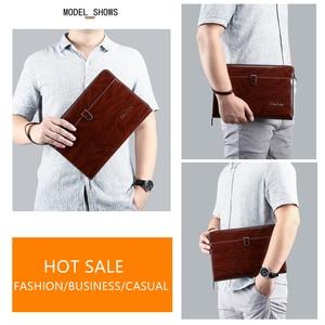 Image 3 - Celinv Koilm الرجال حقيبة صغيرة سعة كبيرة الرجال محافظ كبيرة الهاتف جيب بطاقة المرور عالية الجودة متعددة الوظائف بوس حقيبة يد للرجال