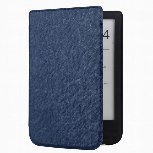 Cross pocketbook leather cover case for Pocketbook Touch lux 4 627 HD3 632 Basic2 616ultra thin voltage e-book leather case