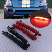 DWCX 2PCS 3W 63132751333 Kunststoff Auto Kotflügel Hinten LED Seite Marker Licht Lampe Fit für MINI Cooper R55 r56 R57 R58 R59 R60 R61