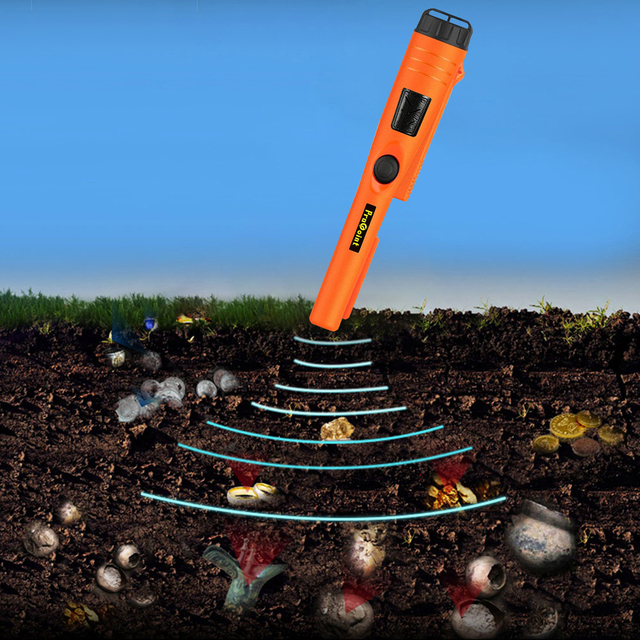 Waterproof Underground Treasure Locator Handheld Security Inspection Pin Pointer Waterproof Archaeology Digger Device 4