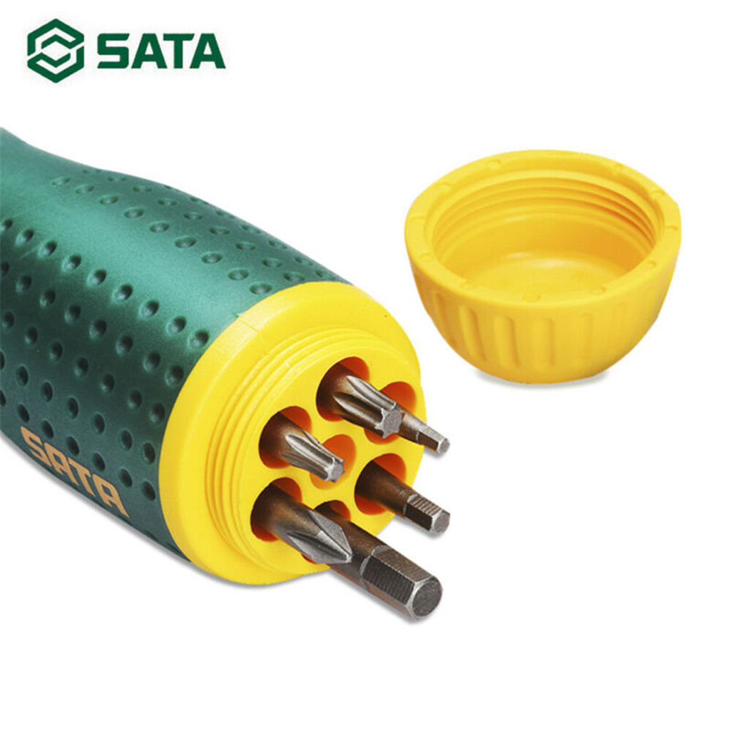 SATA Hand Tool  19-in-1 Repair Tool Kit Screwdriver Kits Home Metal Disassemble Tools Kit for DIY Hand Tools Set Accessories