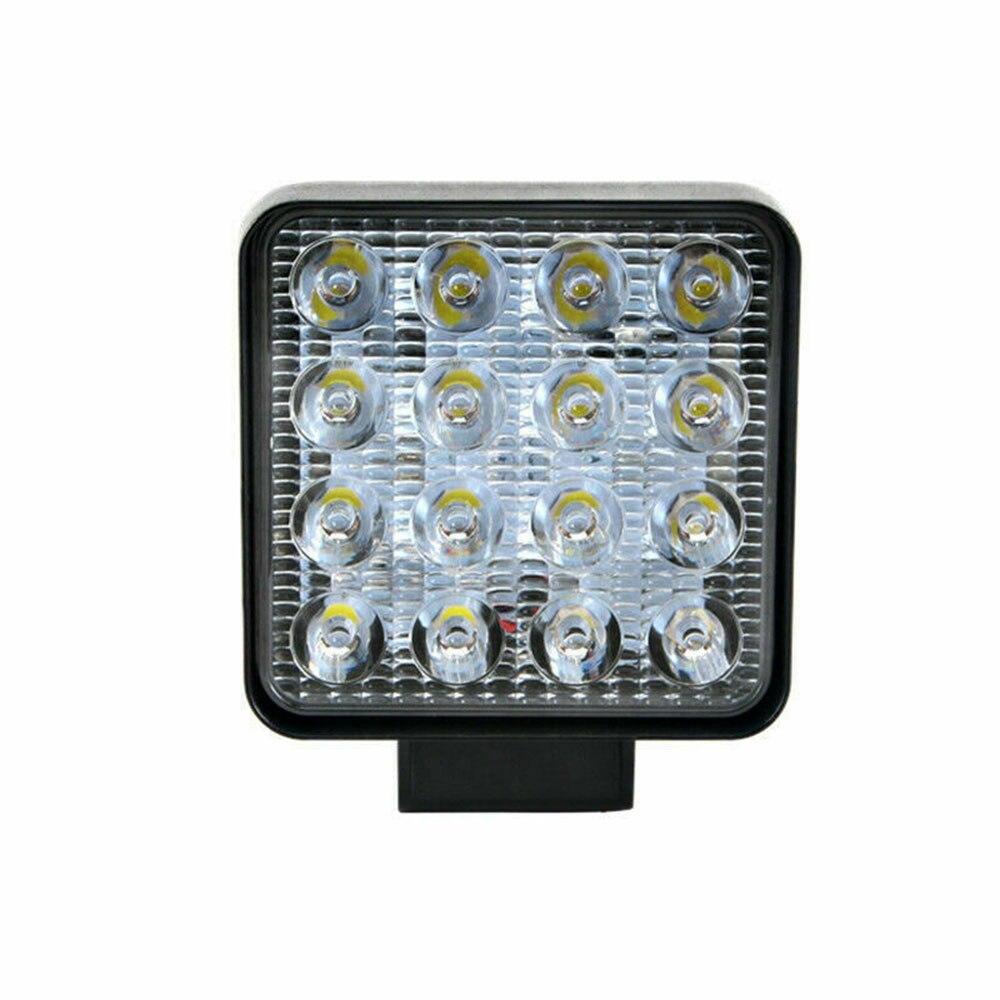 2 шт. Точечный светильник для вождения по бездорожью рабочий барный светильник s светодиодный автомобиль внедорожник DRL Противотуманные фар...
