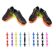 12Pc/Set VING New Unisex Adult Athletic Running No Tie Shoelaces Elastic Silicone Shoelaces All Sneakers Fit Strap Shoe Lace oem 12pc no