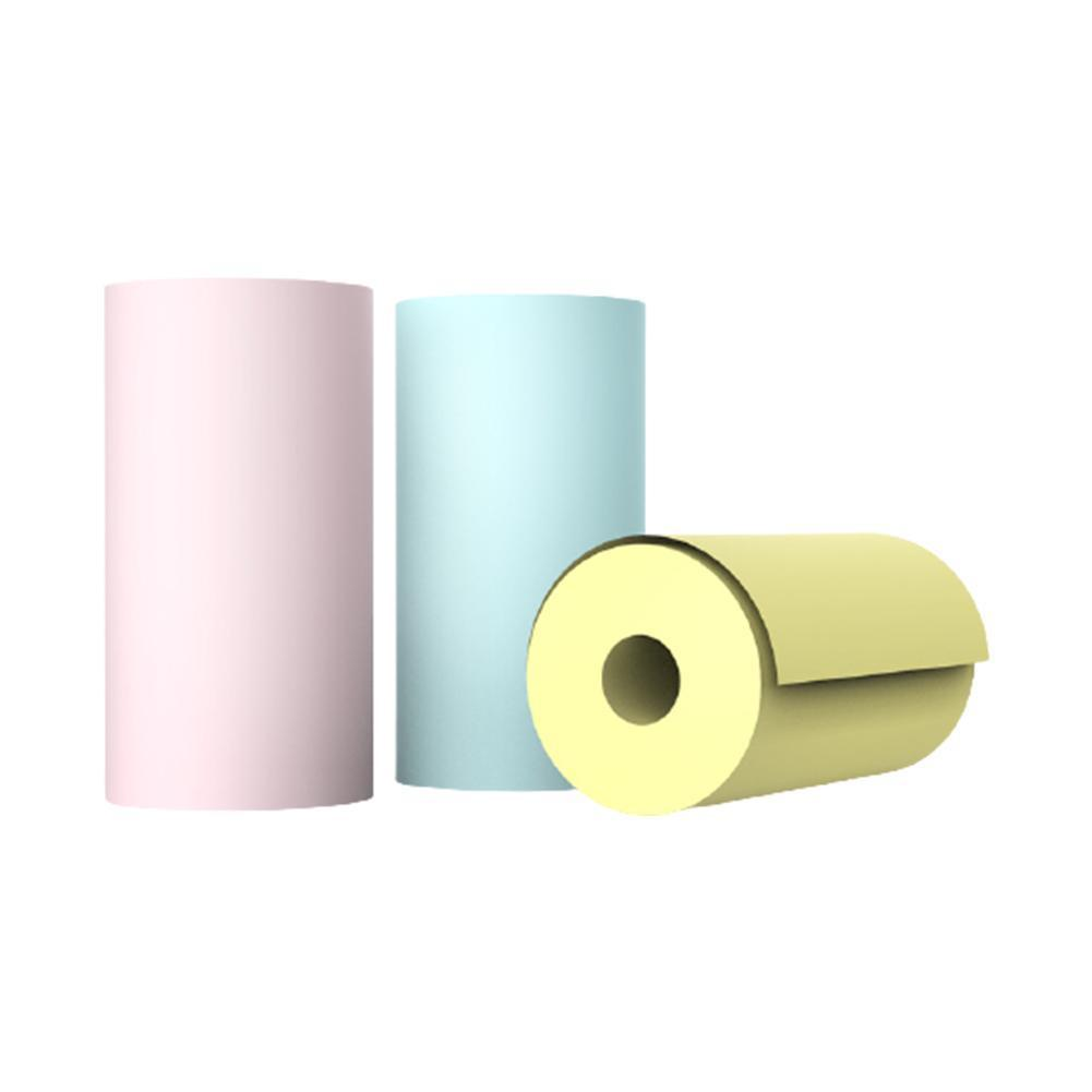 Thermal Label Sticker Width 57mm Diameter 30mm Top Adhesive Coated Paper Stickers Thermal K8W0