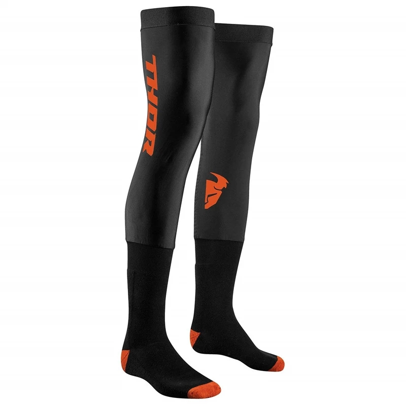 2020 Motorcycle Compression Knee Brace Enduro Socks Top Motocross Socks MTB ATV MX Knee Protection Sport Moto Socks