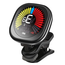 Cherub Rechargeable Guitar Tuner Clip on Tuner LCD for Chromatic Tuning Guitar Violin Ukulele Guitar Accessories WST-670