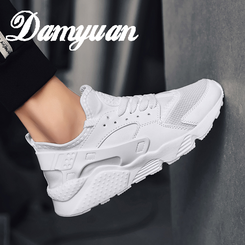 Damyuan Men's Running Shoes 2019 New Fashion Comfortable Breathable Mesh Wear-resistant Non-slip Lightweight Casual Shoes