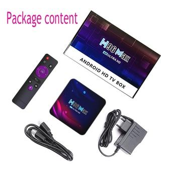 H96 Smart TV Box Android 11 4K Hd Youtube Google Play 5G Wifi Bluetooth Receiver Media Player HDR USB 3.0 4G 32Gb 64Gb Tv Box 6