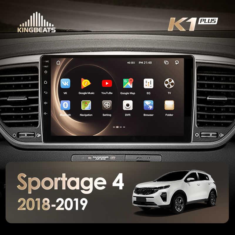 KingBeats Android 8.1 Octa-Core head unit 4G in Dash Car Radio Multimedia Video Player Navigation GPS For Kia Sportage 4 QL