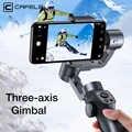 Cafele stabilisateur de cardan à main 3 axes pour iPhone Huawei sans fil Bluetooth Smartphone trépied cardan Capture2 enregistrement vidéo