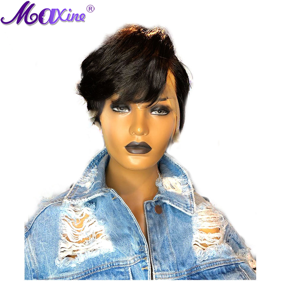 Image 3 - Maxine Pixie Cut Wig 13x4 Short Bob Lace Front Human Hair Wigs Pre Plucked With Baby Hair For Black Women 150 Density-in Human Hair Lace Wigs from Hair Extensions & Wigs