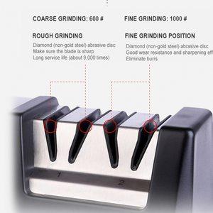 Image 5 - Multifunctionele Professionele Elektrische Keuken Keramische Messenslijper 110 250V Huishoudelijke Messen Kitchen Tools H2