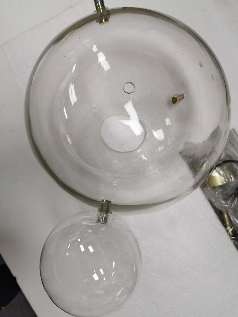 Подгонянная Люстра для гостиной современный из прозрачного стекла