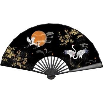 Ventilador plegable clásico Para hombres y mujeres, abanico plegable de bambú, estilo...