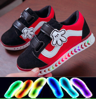 2020 Hot Sales CartoonCasual Shoes Classic Cool Cute Baby Girls Toddlers Shoes Leisure Sneakers Infant Tennis canvas fashion cute lovely shoes children glowing cartoon baby toddlers slip on cool baby girls boys shoes infant tennis