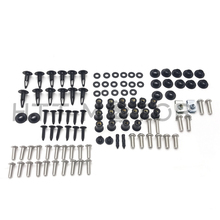 abs plastic motorcycle parts for honda cbr 900rr fairings set cbr954rr 2002 2003 cbr900rr 02 03 blue black fairing body parts Aftermarket free shipping motorcycle parts Complete Fairing Bolt Kit Body Screws For Honda CBR954RR 02-03 Stainless Plastic chro