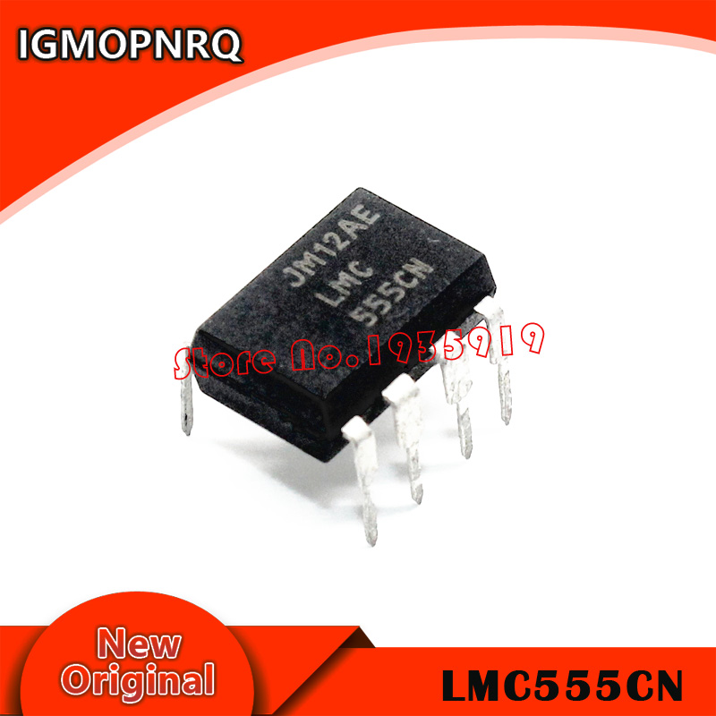 5pcs/lot LMC555CN LMC555 DIP8 Clock Timer IC LMC555C New Original Free Shipping