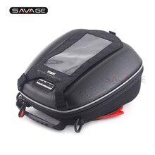 Сумка на бак для SUZUKI DL 650 V-Strom SV650 SV1000 SFV 650 GLADIUS мотоцикл Многофункциональный багаж телефон навигация гоночные сумки