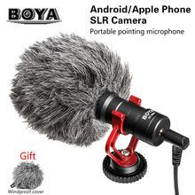 Конденсаторный петличный микрофон boya с разъемом 35 мм для
