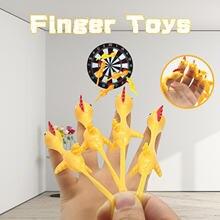 Креативный игрушечный светильник унисекс для курицы резиновый