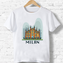 camiseta milán RETRO VINTAGE