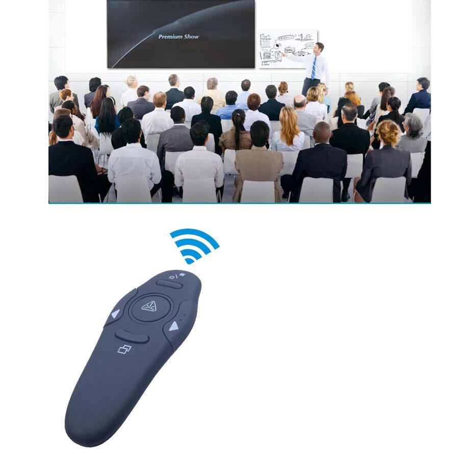 Беспроводные красные Лазерные указки 2,4 г ручка для презентаций Powerpoint пульт дистанционного управления USB RF пульт дистанционного управления...