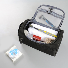 Men s Travel Cosmetic Storage Bag Hanging Wash Makeup Case Toiletry Zip Pouch Luggage Organizer Accessories