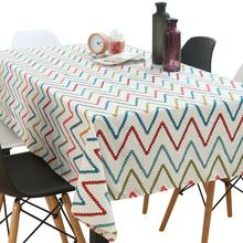 Rectangular Printed Tablecloth Home Kitchen Decoration Elegant Table Cover Wedding Event Party Cotton Table Cloth Nappe Mantel novel circular mesh pattern lace round tablecloth transparent christmas party wedding tea table mat decoration mantel nappe