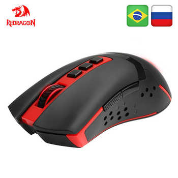 Redragon Blade M692 USB Wireless Gaming Mouse 4800 DPI 9 buttons Programmable ergonomic for overwatch gamer Mice pc computer - DISCOUNT ITEM  35% OFF All Category