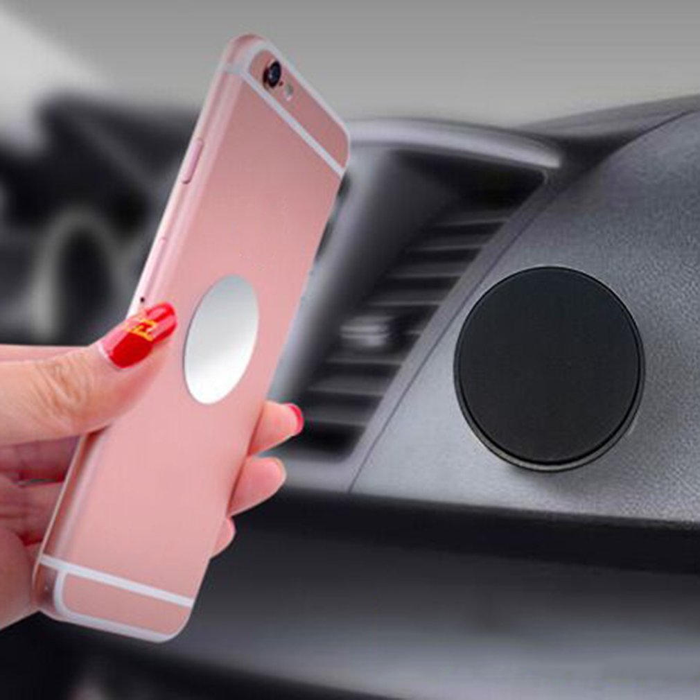 USPS Universal In Car Magnetic Dashboard Cell Phone GPS PDA Mount Holder Stand For Samsung For Iphone 6 Pieces Strong Magnet