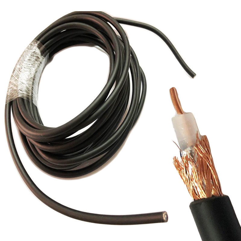 RG58 50-3 RF Coaxial Cable RG-58 RG58 Cable Wires 50ohm  5m  10m 20m 30m 50m
