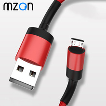 1m Micro USB Cable Fast Charging 3A Cord For Samsung S7 Xiaomi Redmi Note 5 Pro Android Phone Charger