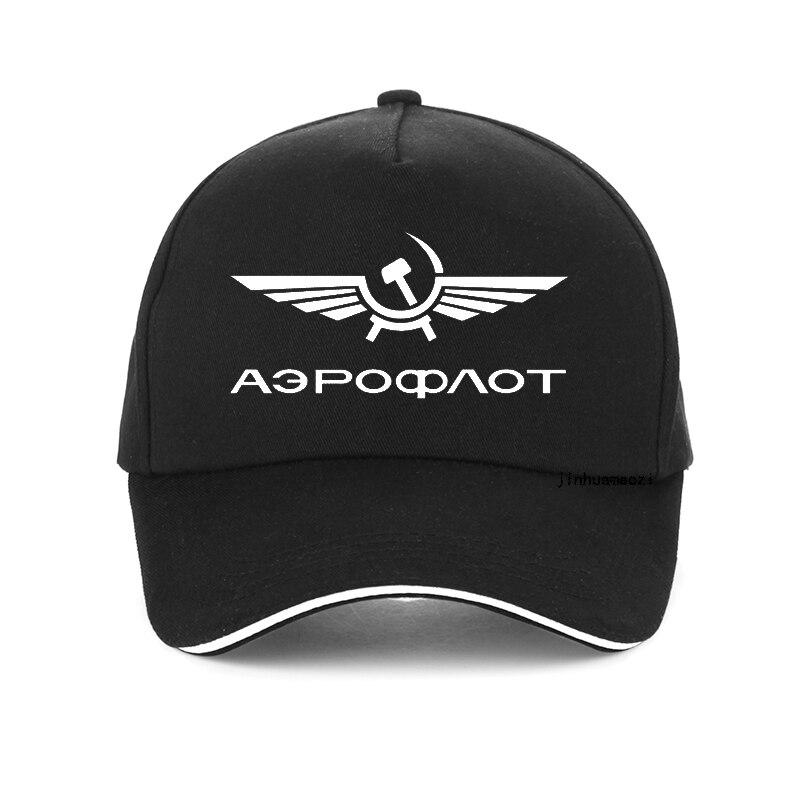 Aeroflot Aviation Russe Pilote Aerospace Aviateur Baseball Cap Summer Cotton Leisure Fashion Hip-hop Hat Unisex Snapback Hats