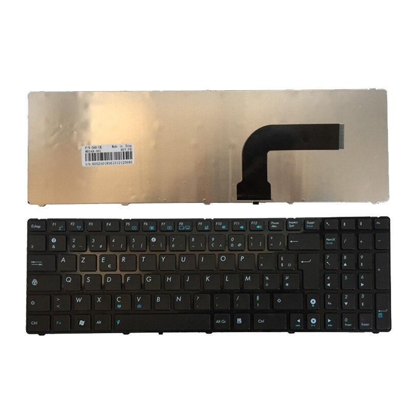 Французское кружево ткань для Asus K52J N50 N50V G51Jx G51V G51VX G51J K52DE K52JB K52JC K52JE K72F K52N A72 A72D A72F A72J N51 FR Клавиатура ноутбука