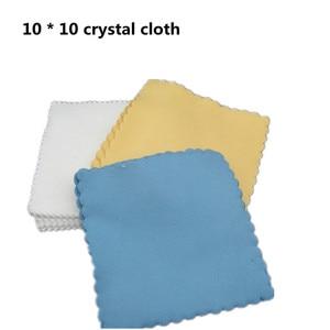 Image 2 - 20Pcs/Set Microfiber Cleaning Cloths 10x10cm Nano Ceramic Car Coating Kits Car Glass Coating Lint Free Cloth