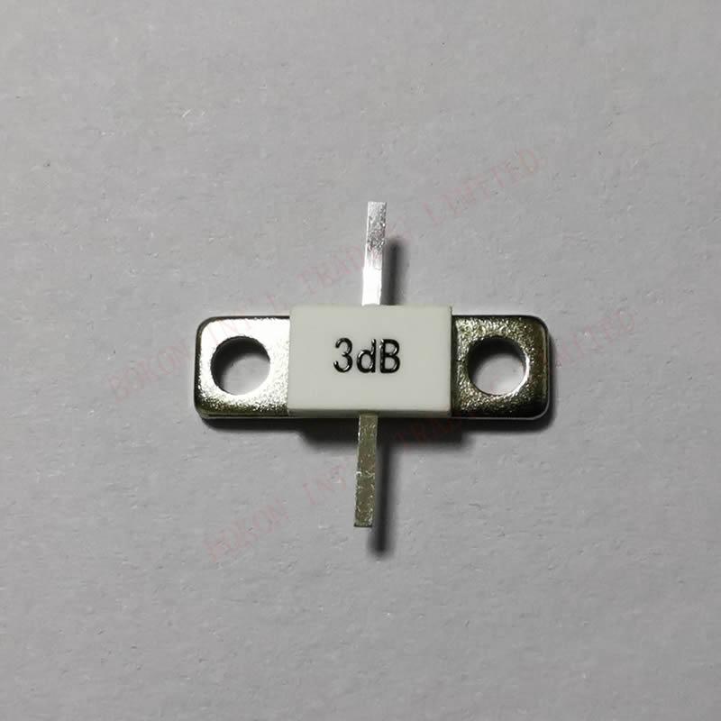 3DB Attenuator 100watt ATTENUATORS FLANGED 100watts 3dB DC-3GHz 50ohms BeO Full Flange 50OHM DC-3.0Ghz LOW VSWR High Power