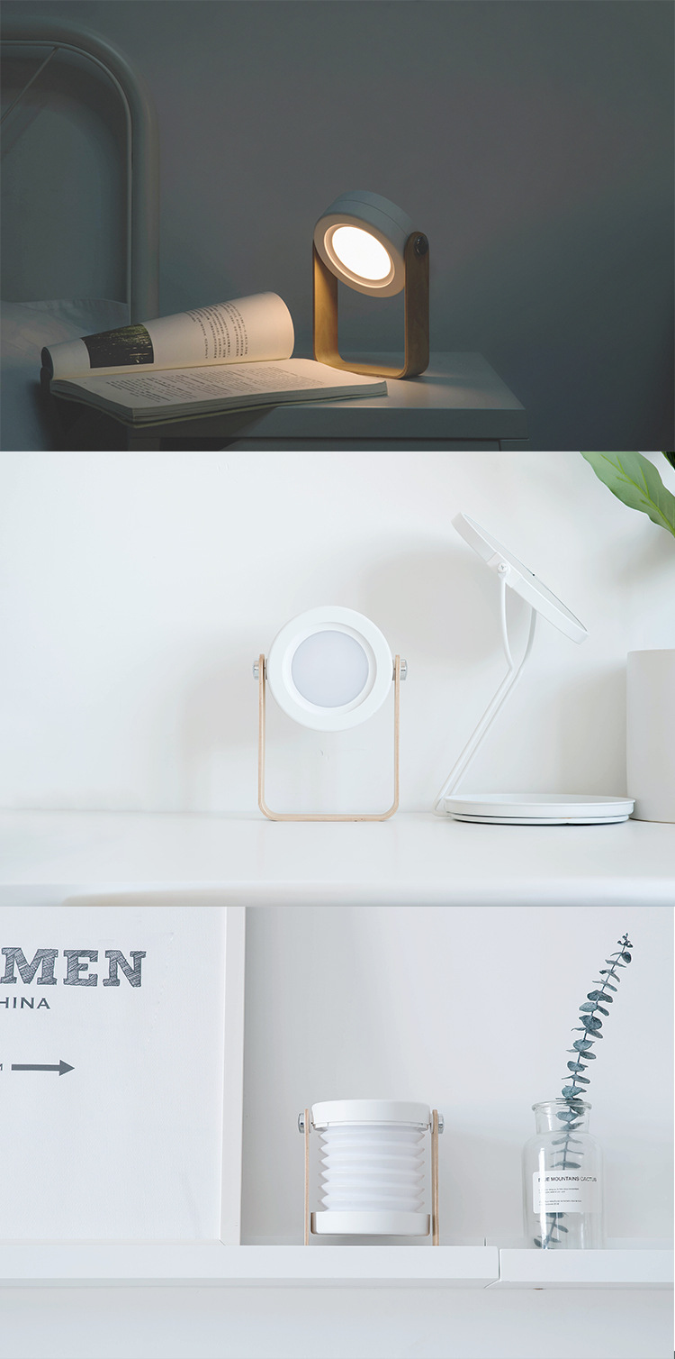 H1531e7301c32401a9447c4cfffe0698dm - Creative Foldable Lantern Table Lamp Portable USB Charger Touch Switch Eye Protect Lamp Desk LED Reading Study Bedroom Lights
