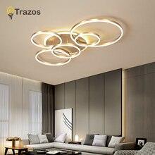 Modern ceiling lights Led to Living Room Bedroom Dining Room Acrylic Ceiling Lamp Metal Home Indoor Lighting  Industrial Lamp