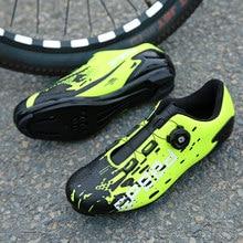 The latest self-locking road bike shoes men Spd sneakers Hombre professional women MTB bike shoes triathlon Sapatilha Ciclismo