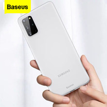 Baseus Luxury Phone Case For Samsung S20 Ultra S 20 Thin Frosted Shockproof Back Cover For Samsung S20+ S20 Plus 5G Coque Fundas(China)
