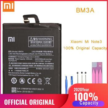 Original Phone Battery for Mi Note 3 Battery Xiaomi Note3 BM3A Replacement Batteries Xiomi bateria for MiNote 3