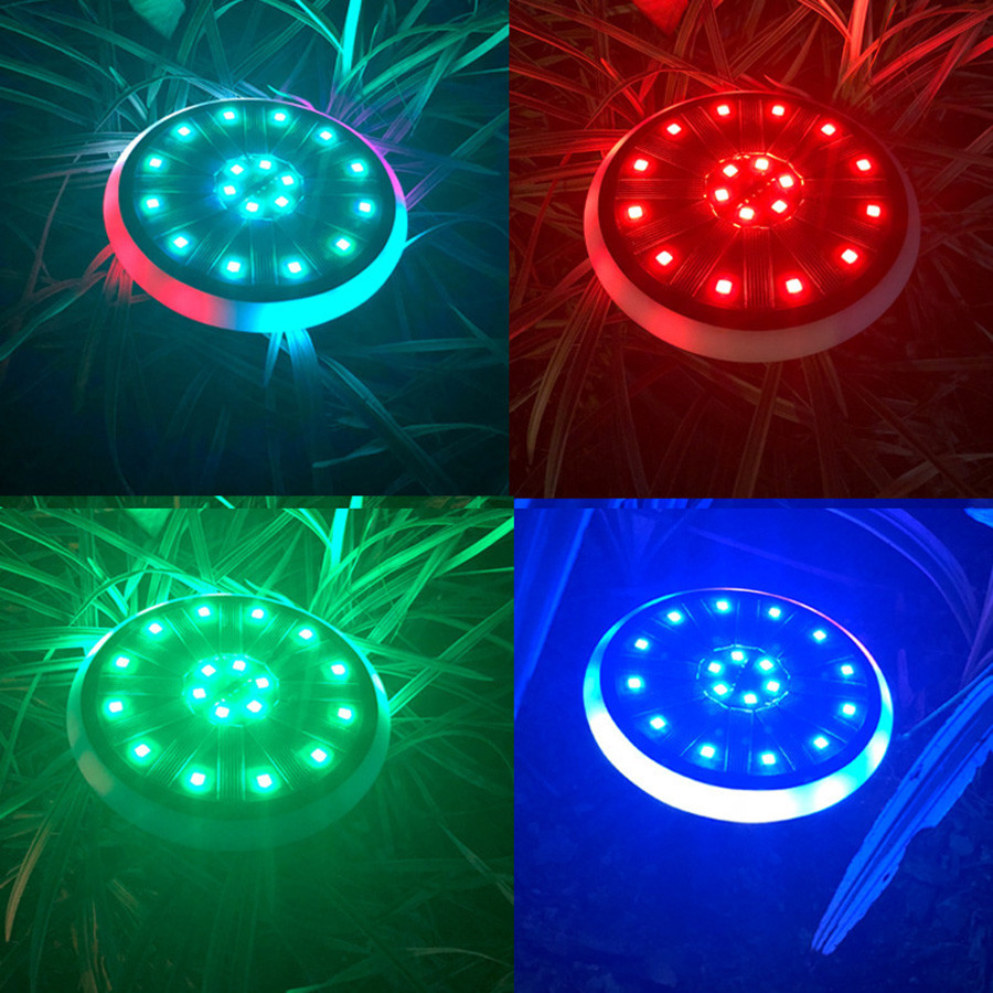 Thrisdar 7 cores rgb luzes de disco