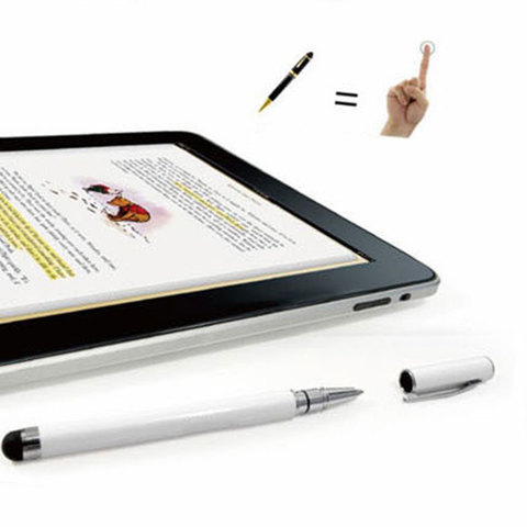 Capacitive touch dual-use ouch Screen Pen Stylus + Ballpoint Pen For mobile phone tablet Multan