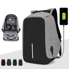 Brand backpack Anti-theft Backpack Bag 15.6 Inch Laptop Notebook Mochila Male Waterproof Back Pack Backbag School Backpack цена 2017