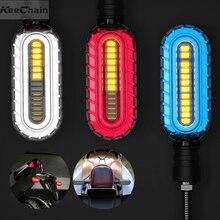 2 Chiếc Biến Tín Hiệu Đèn Led 2 Trong 1 Blinker Chảy Nước Tín Hiệu Đèn Blinker Phanh/Chạy Bộ Đuôi đèn