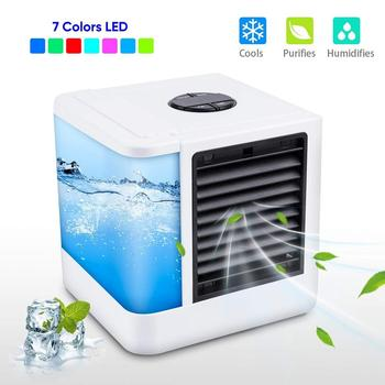 цена на Air Conditioning Portable Air Desktop Usb Charging Air Conditioner Quick & Easy Way to Cool  Air Conditioner Fan Air Cooler